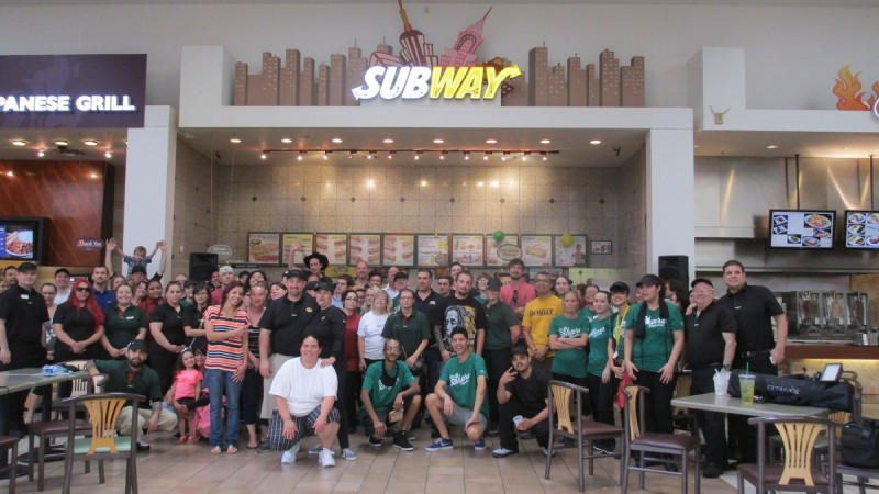 Subway Restaurants of Arizona Subjammers Contest 2