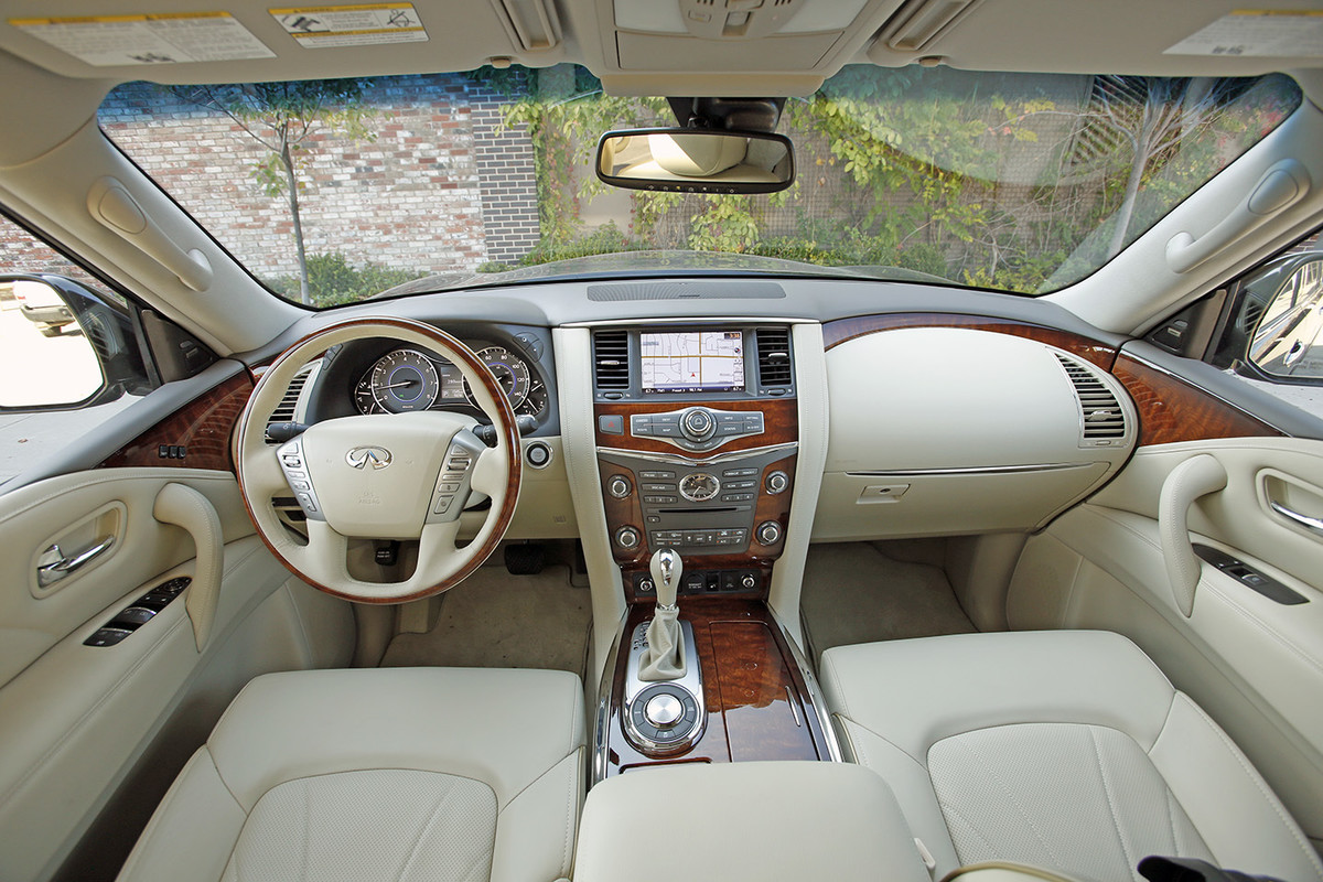 uncategorized rack suv infiniti opinion pictures interior all and limited aboard dashboard