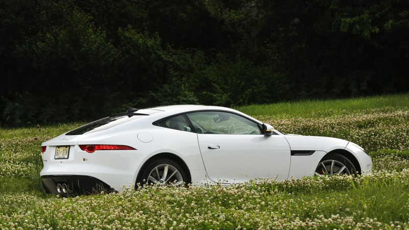 Jaguar's F-Type Coupe Strikes a Stunning Pose 1