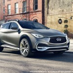 The 2016 Infiniti QX30 Crossover and Q30 Hatchback 1
