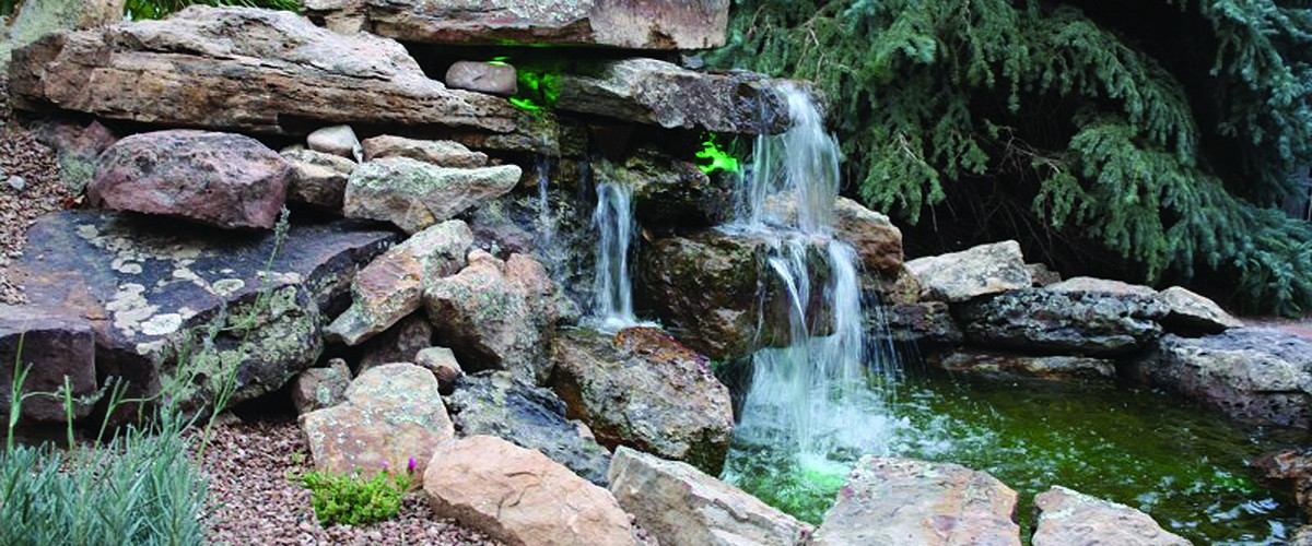 Building a Waterfall  in Your Yard 1