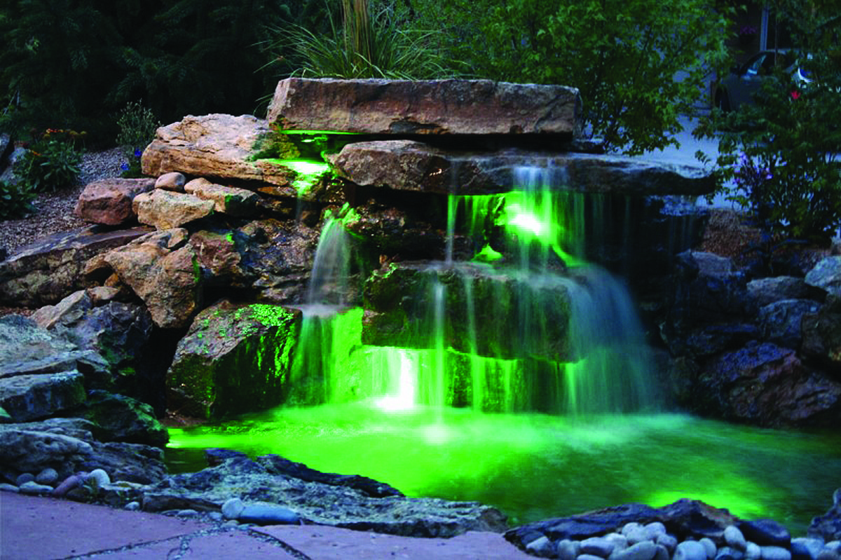 Building a waterfall in your yard roaring fork lifestyle for House built on waterfall