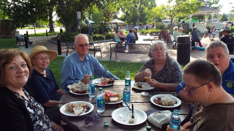 Parker Senior Center's Community Picnic 4
