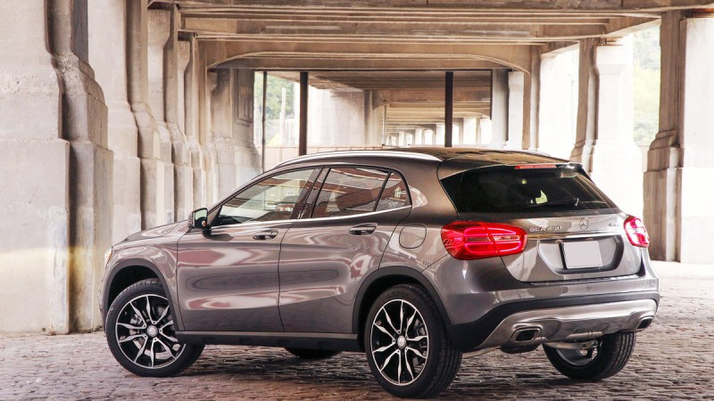 The GLA is Mercedes' Smallest CUV 2