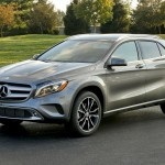 The GLA is Mercedes' Smallest CUV