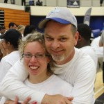 Special Olympics Athletes Get Visit from Matthews 5