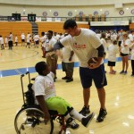 Special Olympics Athletes Get Visit from Matthews 1