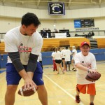Special Olympics Athletes Get Visit from Matthews