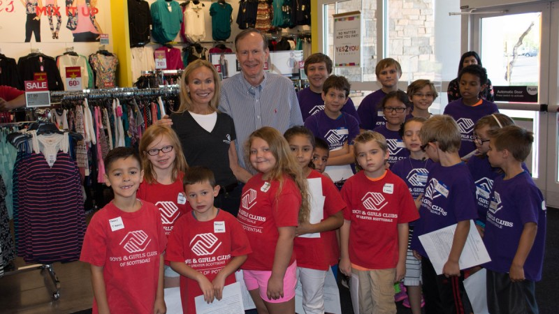 Boys & Girls Club of Greater Scottsdale's  '30 Days of Shopping' Event at Kohl's 5