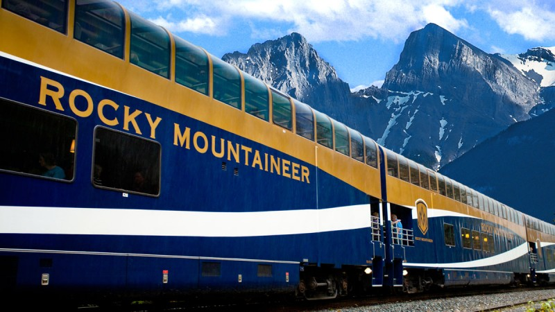 Rocky Mountaineer Luxury Train Tours 2