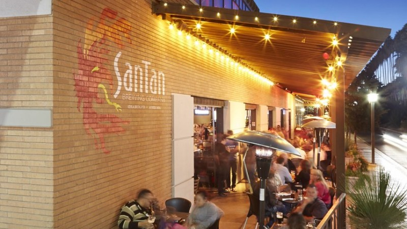 SanTan Brewery Gives Chandler an Endless Supply of Craft Food and Beer