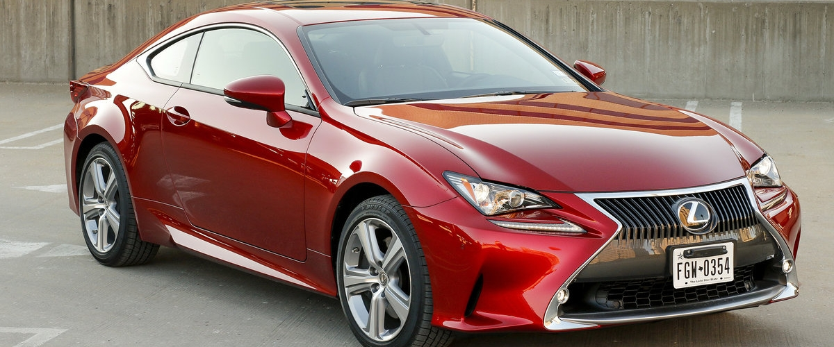 The Lexus RC 350 is a High-Styled Sport Coupe 1