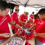 Volunteers Assemble Military Care Kits 2