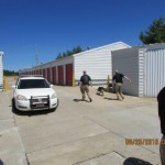 K-9 Unit Training at Chesterfield's Storage Masters 11