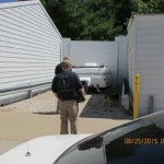 K-9 Unit Training at Chesterfield's Storage Masters 8