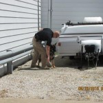 K-9 Unit Training at Chesterfield's Storage Masters 6