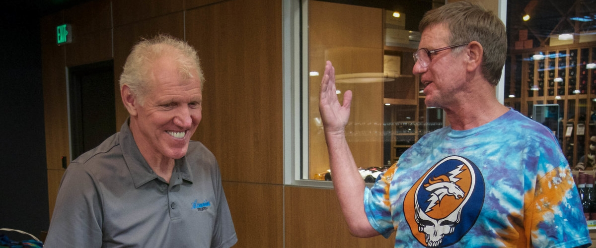Bill Walton at Hazel's 4
