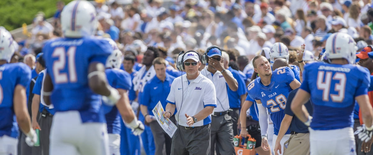 The Golden Hurricane Welcomes Coach Philip Montgomery 1