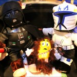 STAR WARS COLLECTOR FEELS THE FORCE