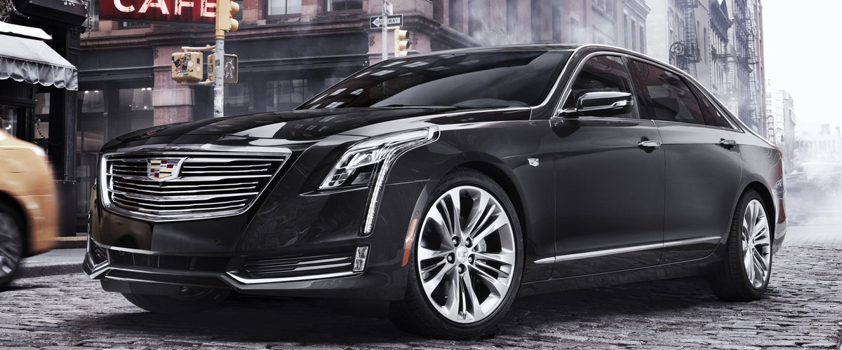 Introducing the 2016 Cadillac CT6