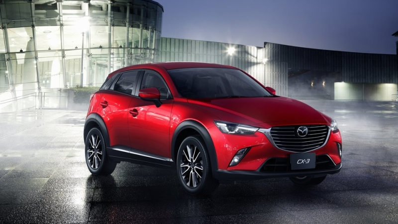 New Mazda CX-3 Has Drivers Looking Forward to 2016 3