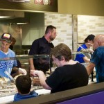 Qdoba Opening Day and Fundraiser for Local 42