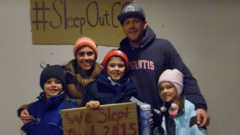 Attention Homes 2015 Sleep Out 8
