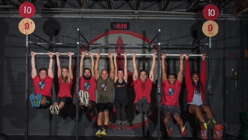CrossFit Takes Over in College Park 5