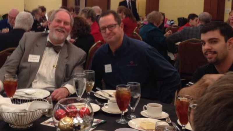 Merrymaking at the Chesterfield Chamber's 