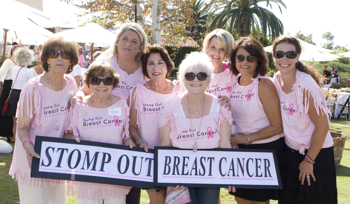 'Stomp Out Breast Cancer' 5