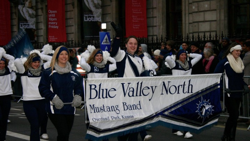 BVN Marching Mustangs Take on London