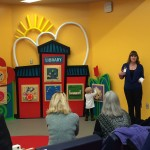 Norman West library debuts interactive play wall for children 1
