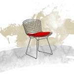 Harry Bertoia and the wire chairs 5