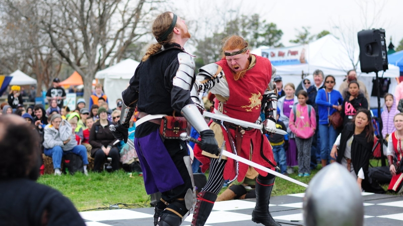 Hear Ye! Hear Ye! 40th Annual Medieval Fair Offers Art, Merriment and More 9