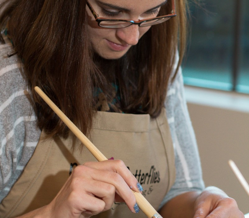 Locally Owned : Burst of Butterflies Pottery Painting & Art Studio 1