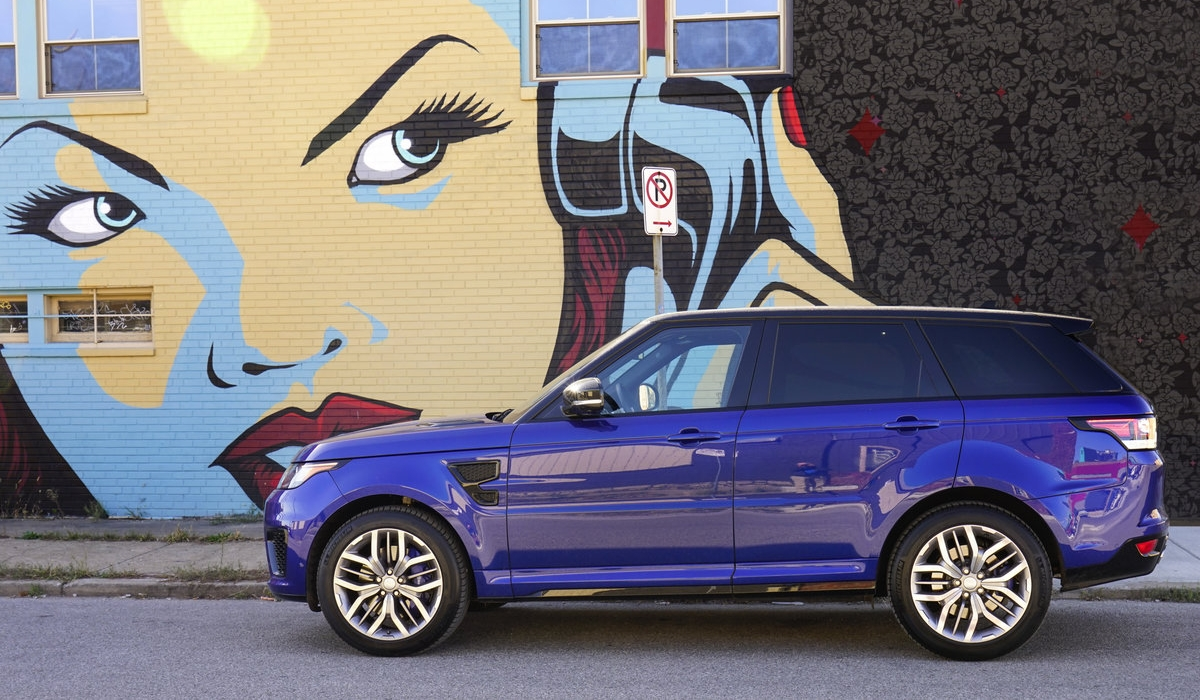 Range Rover Sport SVR 