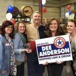 Re-Elect Sheriff Dee Anderson Tailgate Party at Rahr Brewery January 26