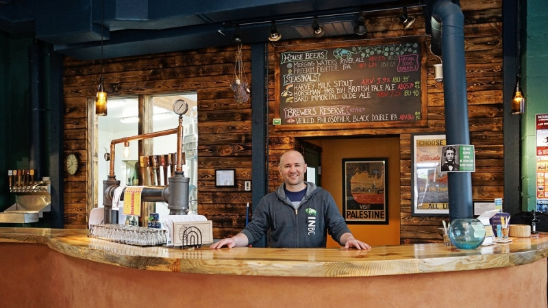 From Peacekeeping on the Front Lines to Brewing on the Riverfront 10