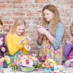 A Sweet & Bright Spring Tea Party 5