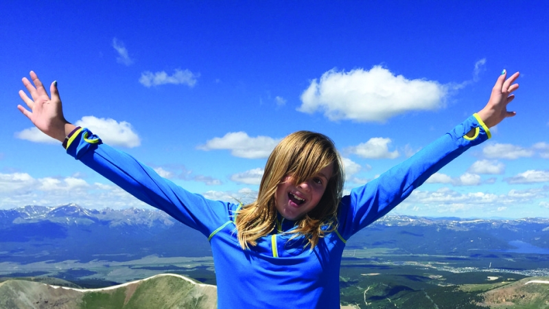 My Daughter's First Fourteener 2