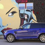 The Range Rover Sport SVR 