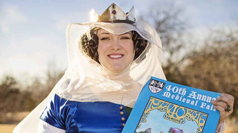 Meet Sarah Caldwell: This Year's Medieval Fair Poster Winner 2