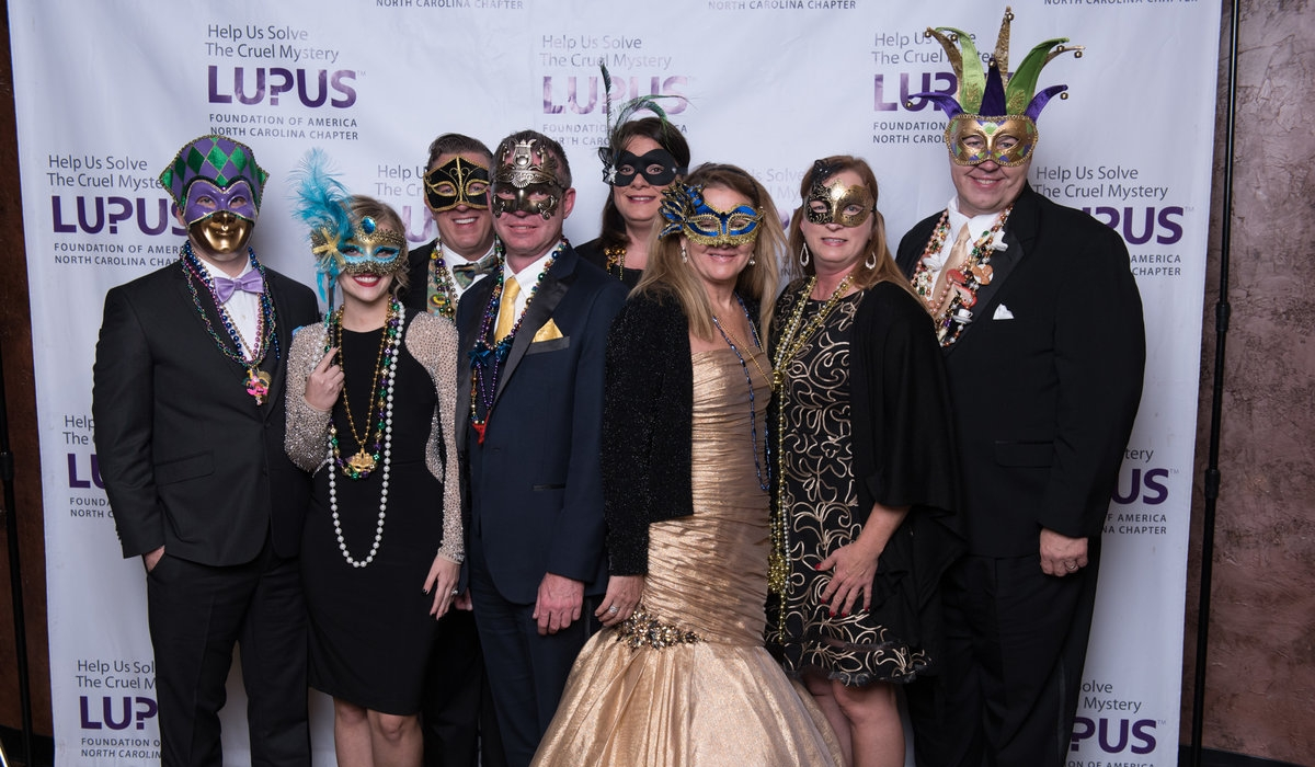 10th Annual Lupus Mardi Gras Gala 5