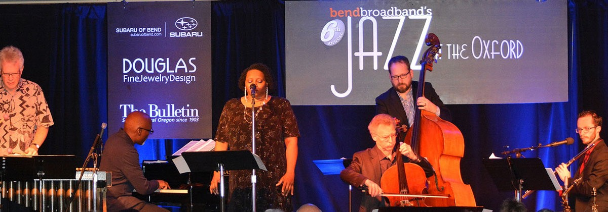 Bend Broadband's 6th Annual Jazz at the Oxford 8