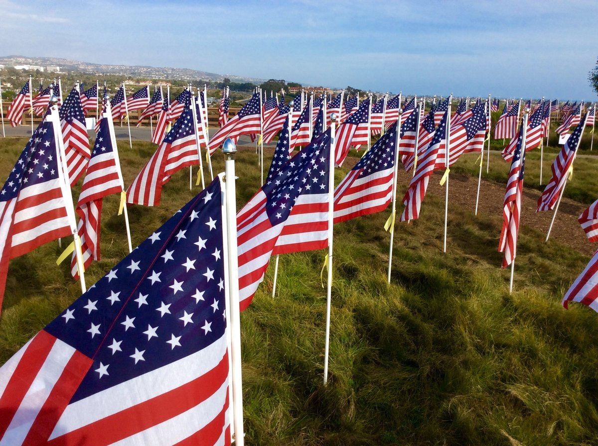 "A Patriotic Tribute with the Seventh Annual ""Field of Honor"""