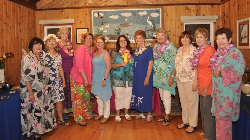 """Tropical Paradise"" Fundraiser Delights 5"