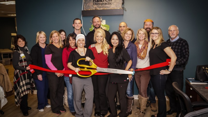 Parker Area Chamber Ribbon Cutting 4