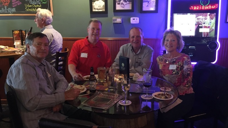 Chesterfield Lifestyle Holds Reader Happy Hour at Satchmo's 8