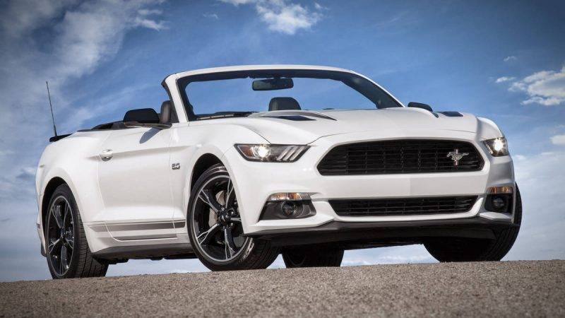 2016 Ford Mustang GT Convertible California Special 1
