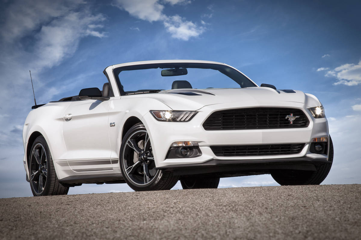 2016 Ford Mustang GT Convertible California Special  BuckHaven
